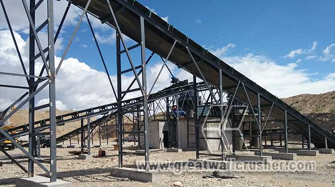 jaw crusher and cone crusher in crushing plant