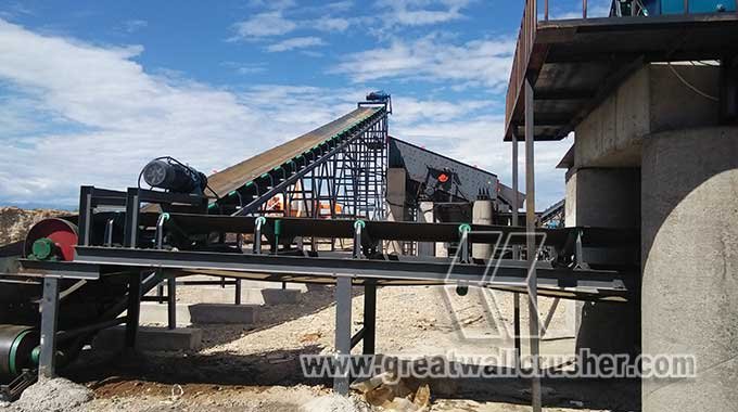 impact crusher and jaw cursher for crushing plant Cebu Philippines